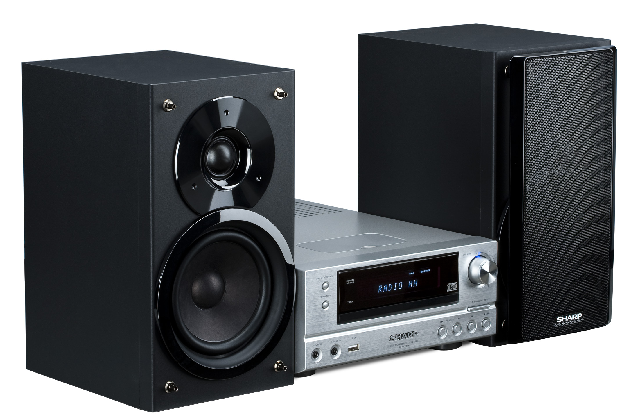 sound system. sound system (speakers and receiver)
